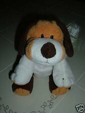 Ty Pluffies Whiffer Puppy Dog Plush Retired Brown White Stuffed Animal