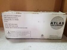 ATLAS FAN Company IRENE-3H / 5H MATTE BLACK (MISSING BLADES)