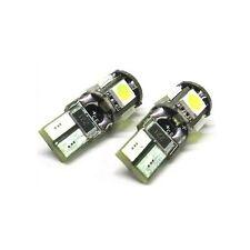 2 LED T10 5 SMD CANBUS Lampadine T10B-510Comebus Per Targa Posizione W 5W hsb