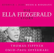 CD LA Ella Fitzgerald Story - Música & Biografía audiolibro + 3cds