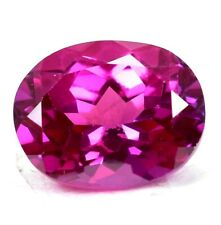 AAA+ 15.35 Ct Natural Pink Pyrope Garnet AGSL Certified STUNNING Oval Gemstone