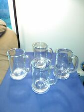 SET OF 4/ 16OZ BEER MUGS, BY LIBBEY GLASS INC.