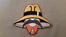 chicano lowrider mustache embroidered patch