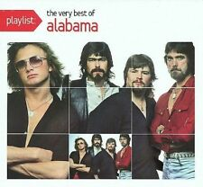 Playlist: The Very Best of Alabama [Digipak] by Alabama (CD, Apr-2008, Legacy)