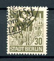 SBZ Berlin MiNr. 7 Aa wb x Sonderstempel geprüft Ströh (I140
