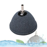 Air bubble disk stone aquarium aerator fish tank pump hydroponics oxygen 6cm  NJ