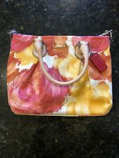 NWT $298 Coach F21909 Ashley Multicolor Floral Print Mini Tote Handbag Purse