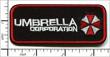20 Pcs Embroidered Iron on patches Resident Evil Umbrella Corporation AP059bC