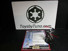 Star Wars Miniatures Asajj Ventress Clone Strike CS w/ Card mini RPG Legion