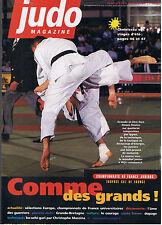 JUDO MAGAZINE N°170  1998