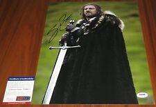 Sean Bean Signed 11x14 Game of Thrones Eddard 'Ned' Stark PSA/DNA