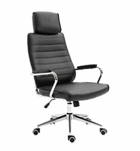 EVRE High-Back Executive Faux Leather Swivel Office/Computer Desk Chair