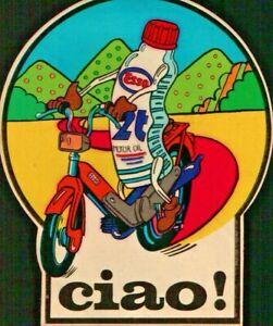 ADESIVO - PIAGGIO CIAO - MOTOR OIL ESSO -