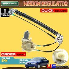 Power Window Regulator W/ Motor for BMW E39 Series 528i 540i 1996-1998 Rear Left