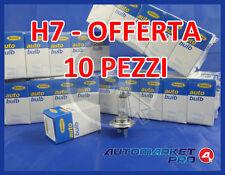 OFFERTA LAMPADE H7 10 PEZZI RING R477 COMPATBILE OSRAM 64210 PHILIPS 12972PROQC1