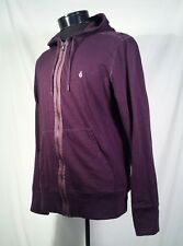 John Varvatos Star USA Hoodie Men's Purple Plum Full Zip Jacket Size Medium