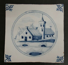 Vintage Dutch Scenic Tile  Holland