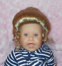 Kemper GIBSON Wig 7/8~BLONDE~Full Cap~Modacrylic Hair~Bun/Curly Ponytail