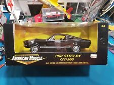 Ertl American Muscle 1967 Shelby GT-500 Ford Mustang 1:18 Diecast, Black BEAUTY