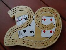 VTG Deluxe 29 Continuous 3 Track Cribbage Board By Waddington Sanders