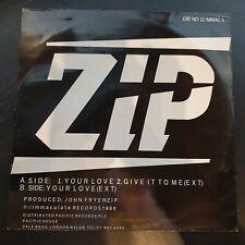 """ZIP - Your Love ~12"""" Vinyl Single"""