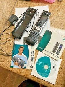 Logitech Harmony 720 Universal Remote With Charging Base & Cable
