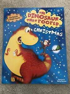 The Dinosaur That Pooped Christmas Children's Book Brand New By Tom Fletcher