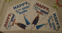 PERSONALISED FROZEN PARTY BUNTING /BANNER / BIRTHDAY DECORATION