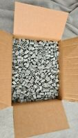 New Lego Light Grey 1x2 Masonry Bricks  98283 - ENTIRE BOX - Est. 2500+ bricks