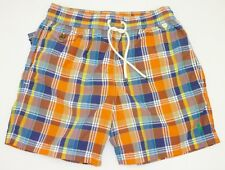 193dd67cd POLO RALPH LAUREN MEN S MULTI-PLAID SWIM SHORTS TRUNKS SIZE SMALL UK 30