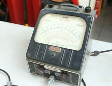 Vintage Jackson Tele Volter Vacuum Tube Voltmeter Model 709 Garage Tool Testing
