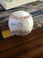 Wade Boggs Signed Baseball by MLB Hall of Famer former Red Sox, Yankee, and Ray!