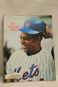 Sports Illustrated Magazine- May 22, 1972 The Amaysing Mets Baseball Wille Mays