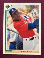 1991 Upper Deck UD Baseball SP1 Michael Jordan Chicago White Sox Bulls