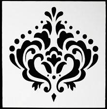 Baroque Design Cake Stencil