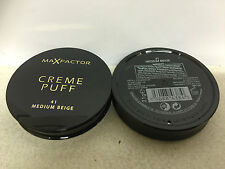 Max Factor Creme Puff Pressed Powder, shade 41 MEDIUM BEIGE