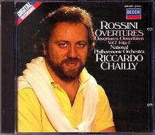 Riccardo CHAILLY: ROSSINI Il barbiere di Siviglia Otello Semiramide Tancredi CD