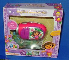 """2010 Dora The Explorer Digital Camcorder with 1.5"""" Preview Screen Unused"""