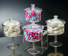 12 BABY SHOWER COMMUNION BAUTIZO FAVORS FILLABLE CANDY CONTAINERS MINI RECUERDOS