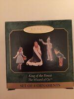 Hallmark Keepsake Ornament Wizard of Oz King of the Forest