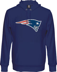 NFL Football New England Patriots Hoody Hooded Pullover Hyper Domestic Sweater