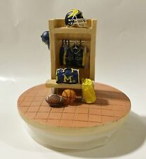 Michigan University - Ceramic College Mascot Candle Topper by Talegaters