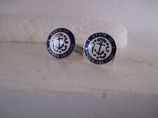 Rhode Island Seal cloisone logo cufflinks