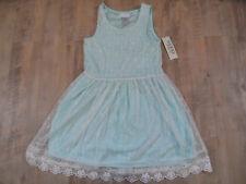 GUESS wunderschönes Kleid mit Spitze hellgrün Gr. 14 J NEU  518