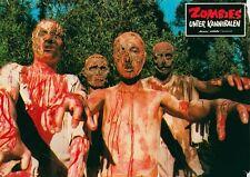 Zombies unter Kannibalen ORIGINAL deutsches Aushangfoto SPLATTER SUPERSELTEN