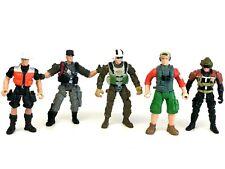 Chap Mei Action Figures Military Soldier Force Adventure Toy Set Five 5