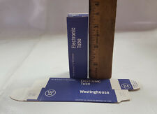 100 Westinghouse Vacuum Tube Boxes fit 12AX7 (Cheaper than white tube boxes)