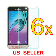 6x Clear Screen Protector Guard Film For Samsung Galaxy J3 J3 V  (2016)