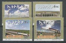 Ethiopia NEW ISSUE Complete Set of 4 MNH 2018 Train Ethiopia Djibouti Railwway