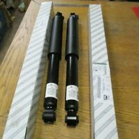 Fiat Doblo Vauxhall Combo Pair Of Rear Shock Absorbers 95527108